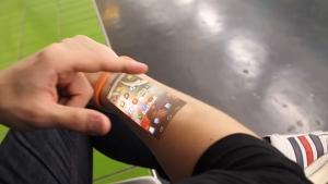 Stiže nova era smart telefona - ekran na vašoj koži 3