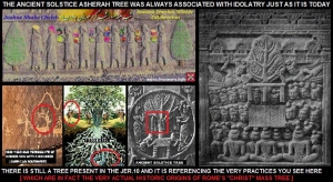 THE CHRIST-MASS TREE IS AN ASHERAH