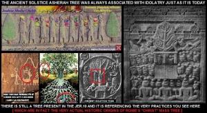 THE CHRIST-MASS TREE IS AN ASHERAH