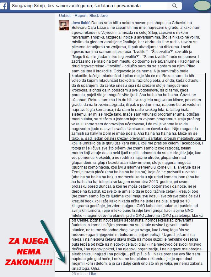 Jovo Ilukić opis PSIHOPATE + za njega NEMA zakona!