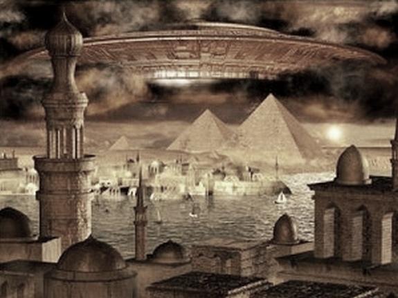 ufo-over-pyramids-in-egypt